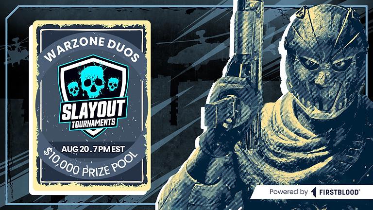 $10,000 Warzone Duos Tournament   August 20th @ 7PM EST