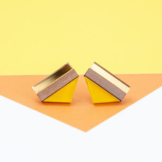 Point Stud - Yellow