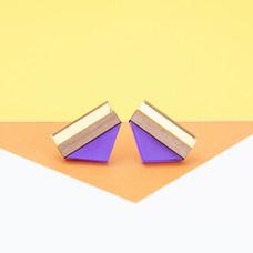 Point Stud - Purple