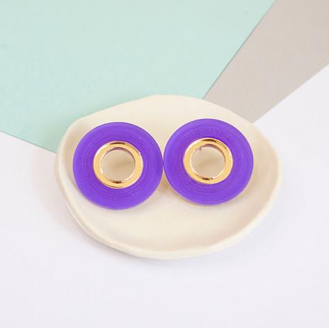Statement Circle - Purple