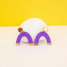 Arch Dangle - Purple