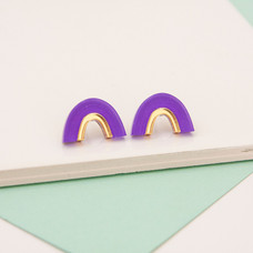Arch Stud - Purple