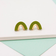 Arch Stud - Green