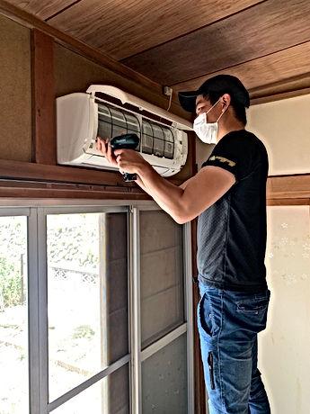 エアコンクリーニングの写真