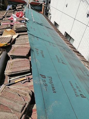 屋根修理の写真