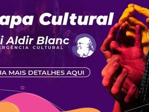 MAPA CULTURAL: Lei Aldir Blanc - Incentivo a Cultura
