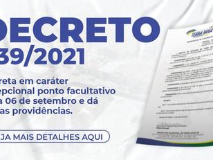 Decreto 039/2021