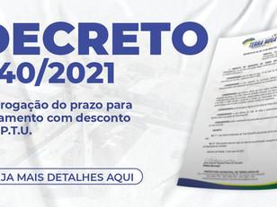 Decreto 040/2021