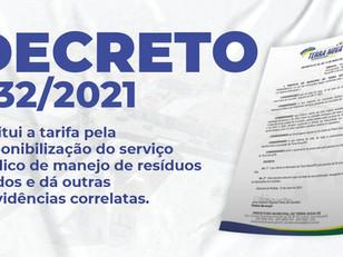 Decreto 032/2021