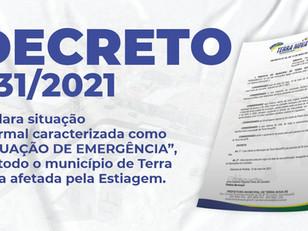 Decreto 031/2021