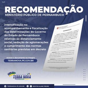 Recomendação do Ministério Público de Pernambuco