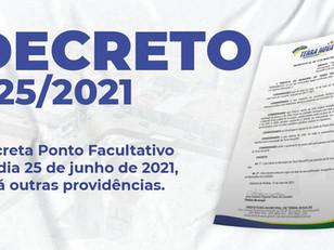 Decreto 025/2021
