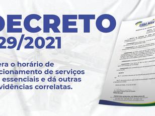 Decreto 029/2021