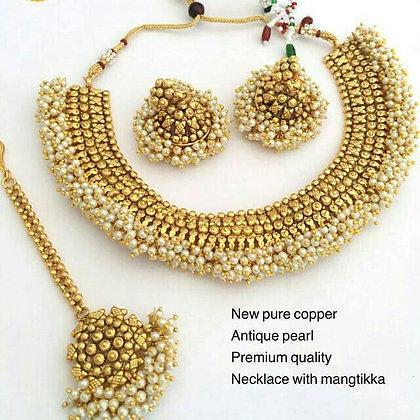 Pure Copper Antique Pearl