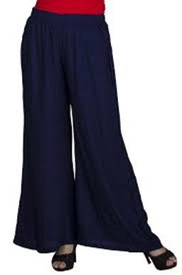Rayon Plain Palazzo pants