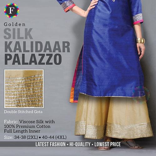 Silk Kalidaar Palazoo