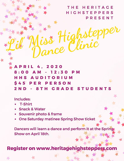 2020 Lil Miss Highstepper Dance Clinic.j