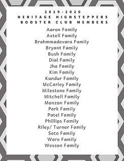 2019-2020 Booster Club Members.jpg