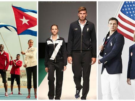 A moda nas Olimpíadas