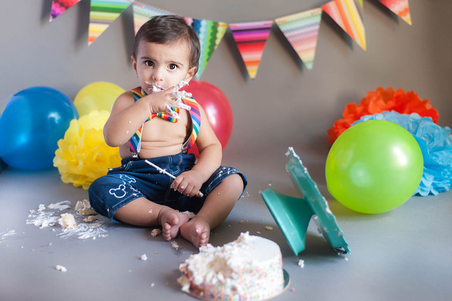 5 tips for a great cake smash session - Cake Smash Photographer in Mumbai