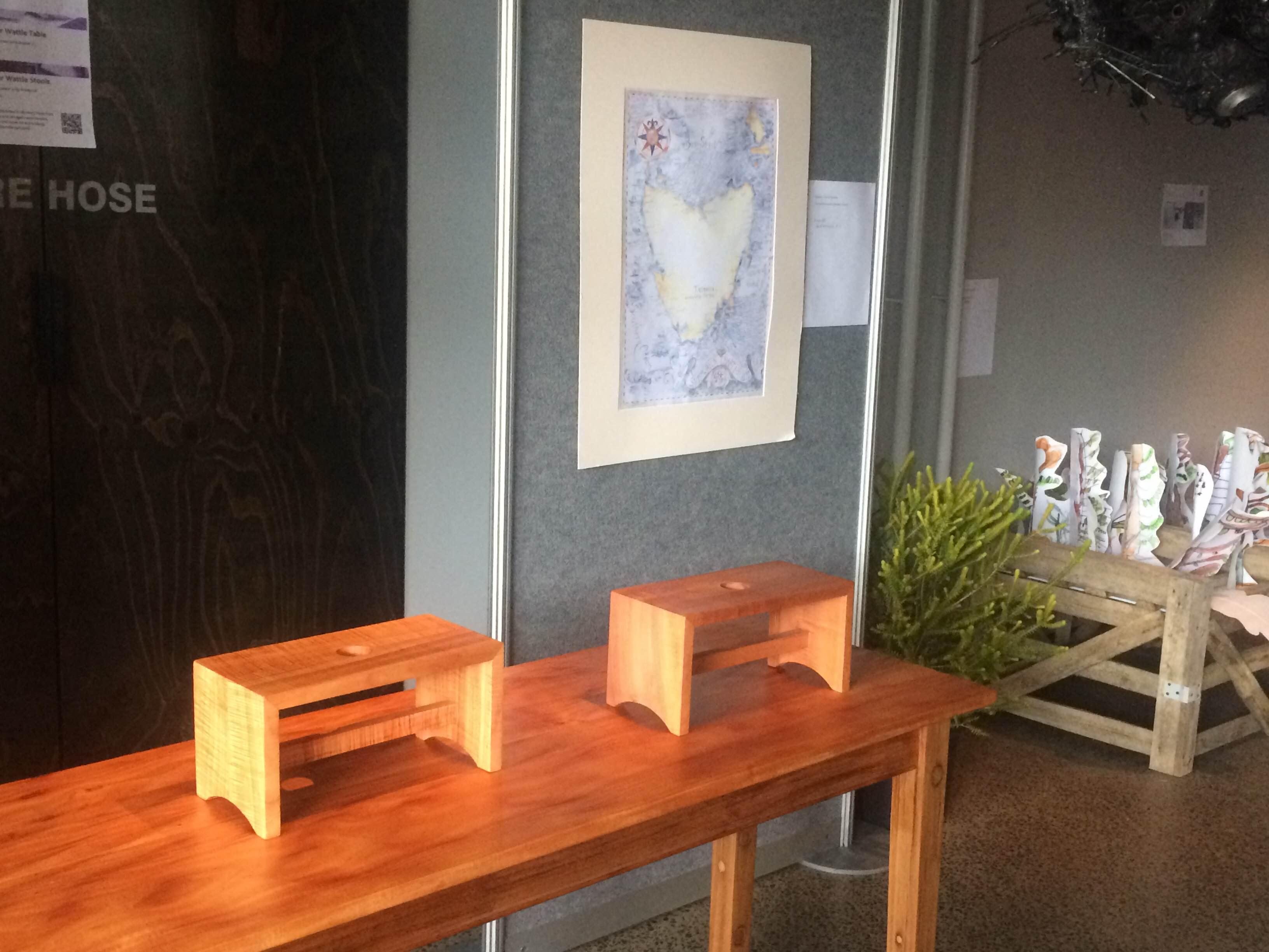 Tasmanian woodwork