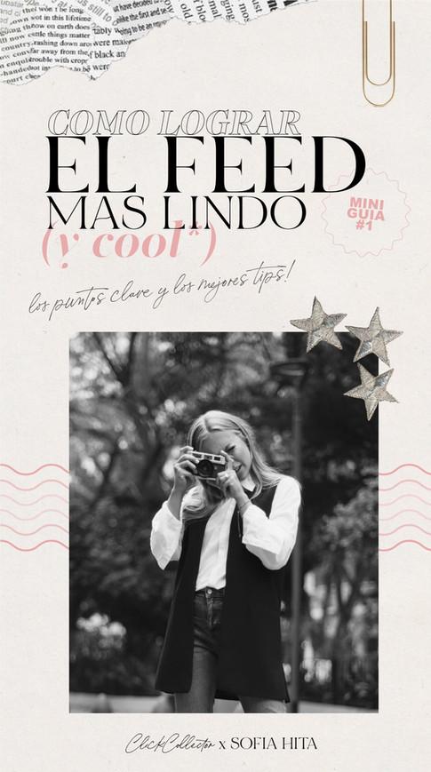 COMO LOGRAR EL FEED MAS LINDO (y cool*)