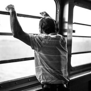 Staten Island Ferry, NYC. July 2016