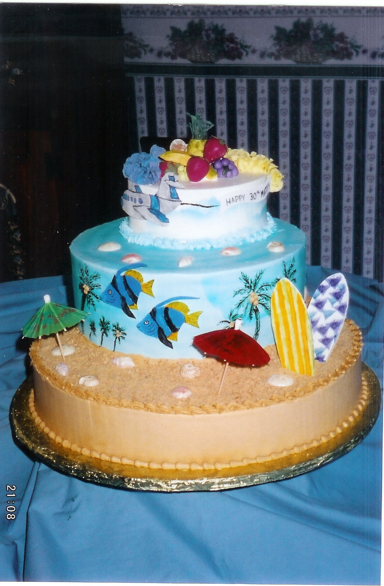 Contemporary Wedding Cakes Myrtle Beach Inspiration Blue Wedding