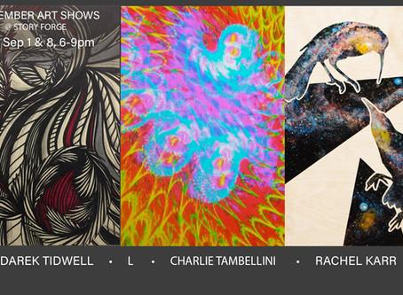 September Art Shows - Sep. 1st & 8th