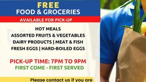 FREE FOOD & GROCERIES
