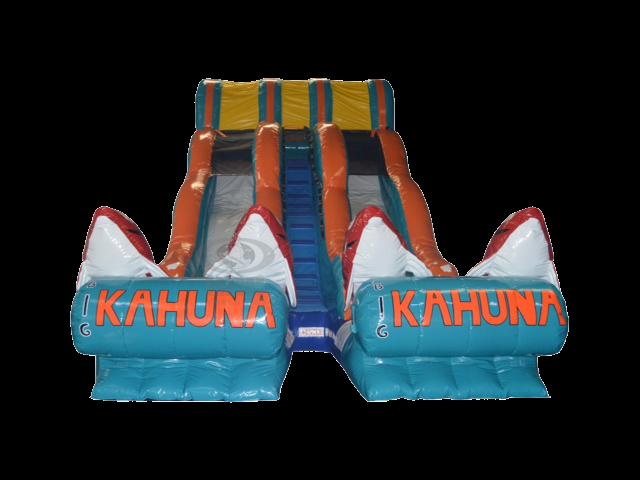 The Big Kahuna Dual Lane Water Slide