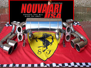 Nouvalari-USA Ferrari 360 Exhaust - Hear the Difference