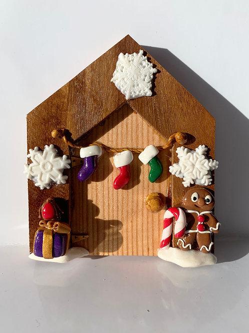 Christmas Fairy Door 5