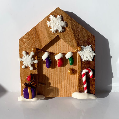 Christmas Fairy Door 3