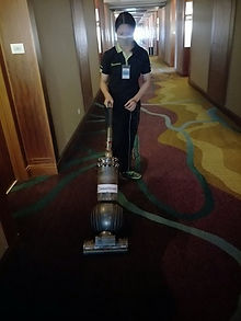 High powered upright vacuum for cleaner