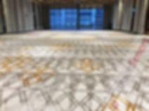 Beautiful Hyatt Regency ballroom after d