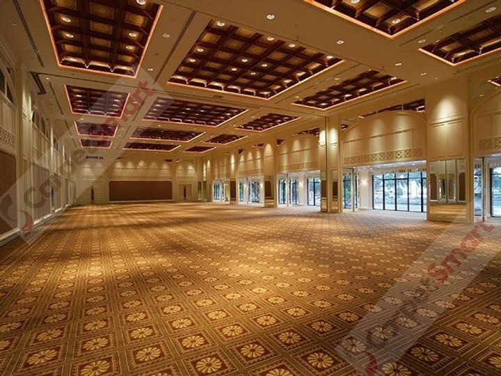 Beautiful and clean ballroom after deep