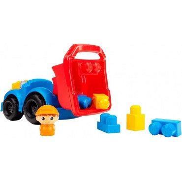 """"""" Mega Bloks First Builders Dylan """" Բեռնատար մեքենա կոնստրուկտորներով"""