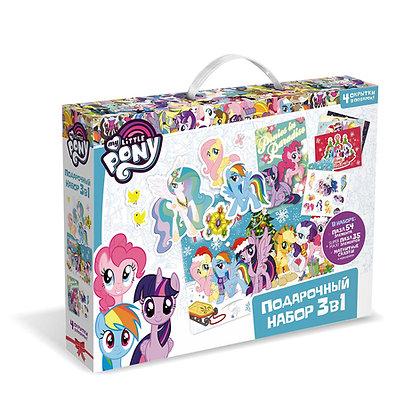 ՛՛My little pony՛՛ փազլ նվերի հավաքածու 3-ը 1-ում