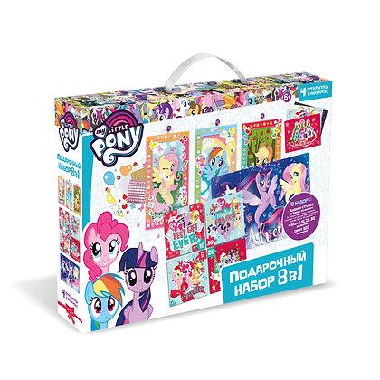 ՛՛My little pony՛՛ փազլ նվերի հավաքածու 8-ը 1-ում
