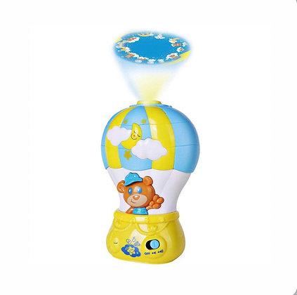 Երաժշտական լուսամփոփ  օդապարիկ