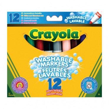 """12 լվացվող մարկերներ """" Crayola """""""