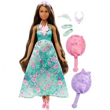 """Գունավոր վարսերով արքայադուստր տիկնիկ """" Barbie """""""
