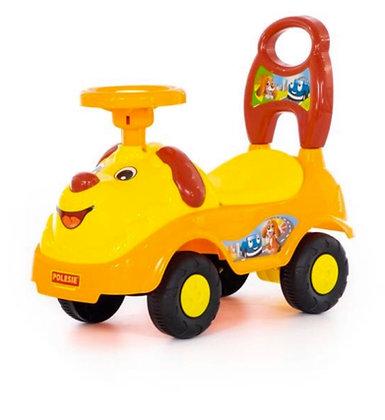 Գլորվող մեքենա շնիկ դեղին
