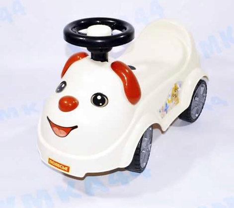Գլորվող մեքենա շնիկ սպիտակ '' Полесье ''