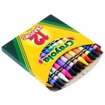 """12 գունավոր յուղամատիտ """" Crayola """""""