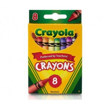 """8 գունավոր յուղամատիտ """" Crayola """""""