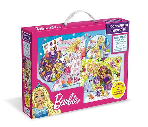 ՛՛Barbie՛՛ փազլ հավաքածու 4-ը 1-ում