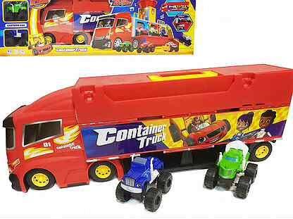 """Բազմաֆունքցյոնալ բեռնատար փոքր մեքենաներով և ձայնային էֆեկտներով  """"Բլեյզ"""""""