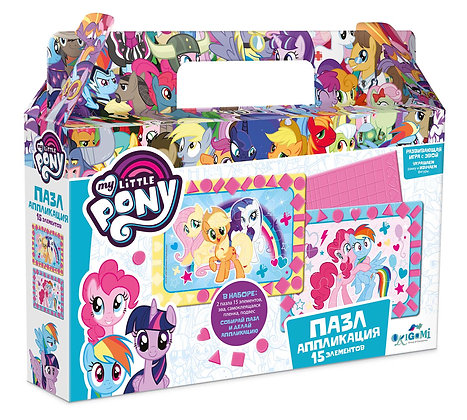 ՛՛My little pony՛՛ փազլ փոքր հավաքածու